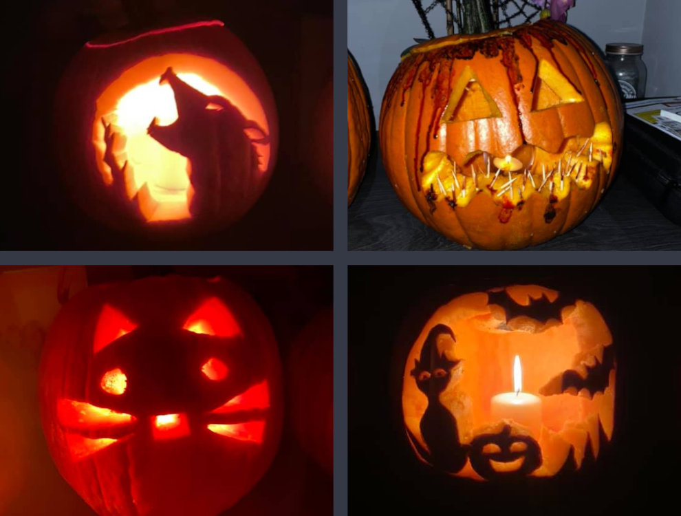 Aspire To Move Halloween competition entries
