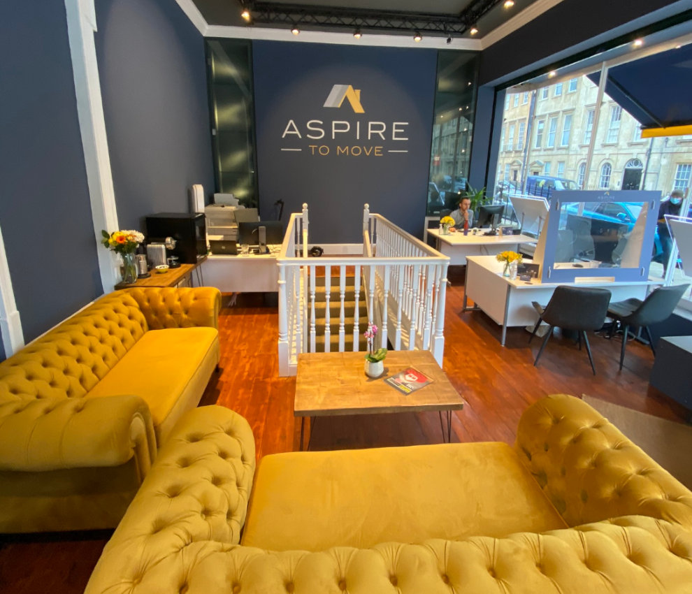 Aspire To Move office inside